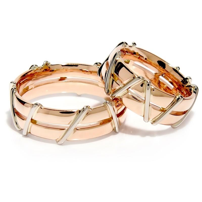 """Vestuviniai žiedai """"Kartu"""", jam ir jai"""