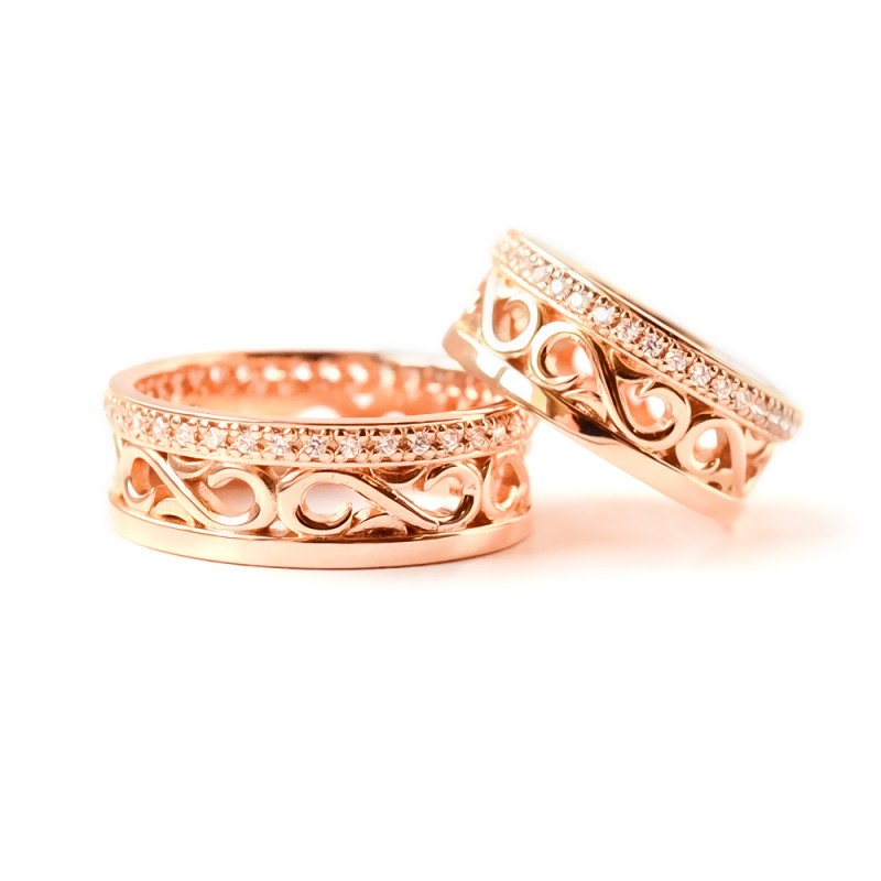 """Vestuviniai žiedai """"Gija"""""""