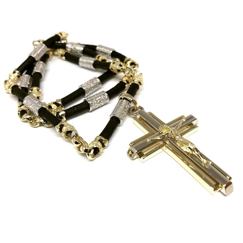 """Vyriškas kaklo papuošalas """"Kryžius"""""""