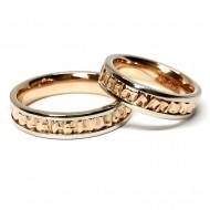 """Vestuviniai žiedai """"Rievės"""""""