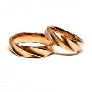 """Vestuviniai žiedai """"Gijos 2"""""""