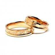 """Vestuviniai žiedai """"Taip"""""""