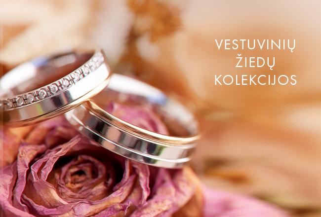 Vestuvinių žiedų kolekcijos